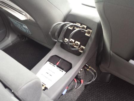 オーディオテクニカデモカー
